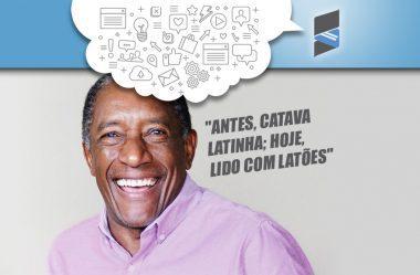 """Vídeo > Batemos um papo com Geraldo Rufino """"Antes, catava latinha; hoje, lido com latões"""""""