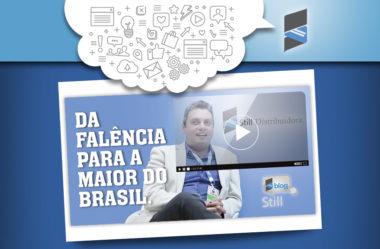 Da falência para a maior empresa de distribuição de mídia impressa do País.